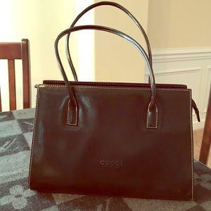 Gucci-Black Leather purse